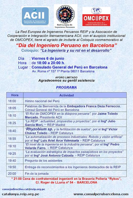 06 JUNIO - ENCUENTRO EN BARCELONA